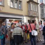 Vorstadt rechts orange Tor KN-Amtshaus Wappen Bischof Metzler