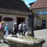 Museumsbereich mit Brunnen