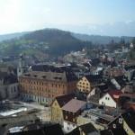Rundblick auf Feldkirch von links