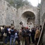 Ruine einer alten Kirche Castelvecchio