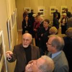 Während der Ausstellung.