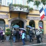 Unser schönes Hotel in Straßburg.