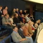Im Europäischen Parlament.