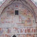 Frauenkirche Fresko Strigel mit Einhorn